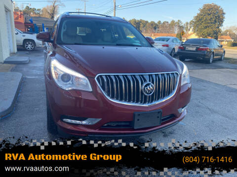 2016 Buick Enclave for sale at RVA Automotive Group in North Chesterfield VA