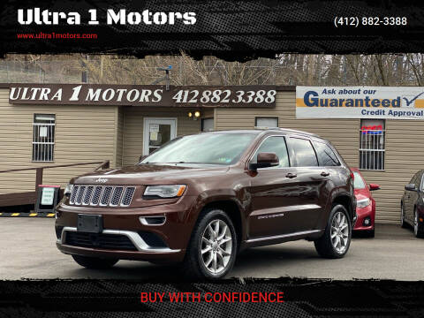 2015 Jeep Grand Cherokee for sale at Ultra 1 Motors in Pittsburgh PA