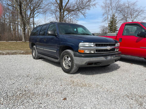 2003 Chevrolet Suburban for sale at Doyle's Auto Sales and Service in North Vernon IN