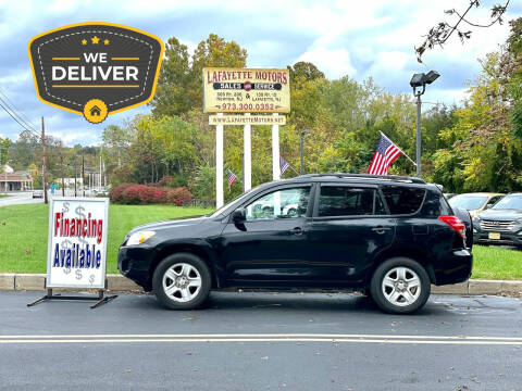 2012 Toyota RAV4 for sale at Lafayette Motors 2 in Andover NJ