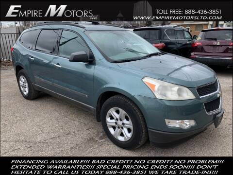 2009 Chevrolet Traverse for sale at Empire Motors LTD in Cleveland OH