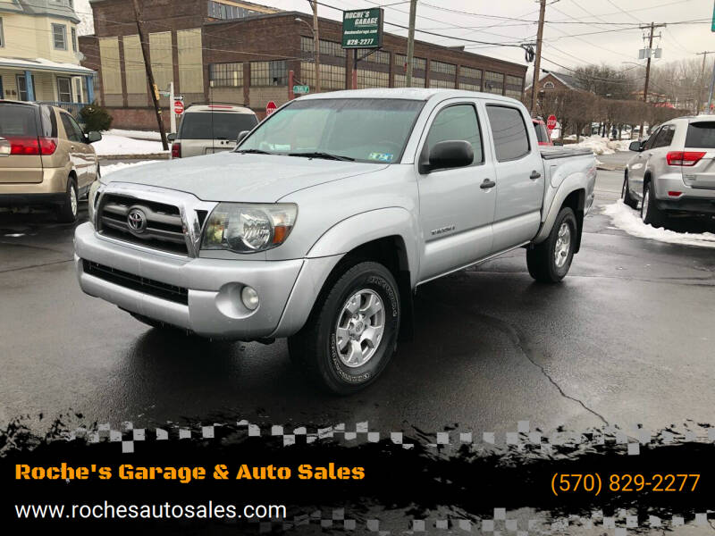 2009 Toyota Tacoma for sale at Roche's Garage & Auto Sales in Wilkes-Barre PA