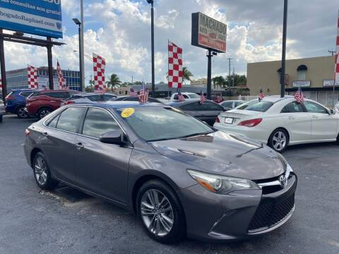 2015 Toyota Camry for sale at MACHADO AUTO SALES in Miami FL