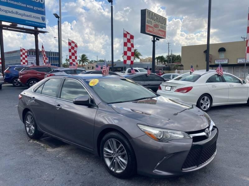 2015 Toyota Camry for sale at MACHADO AUTO SALES in Miami FL