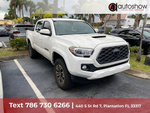 2021 Toyota Tacoma for sale at AUTOSHOW SALES & SERVICE in Plantation FL