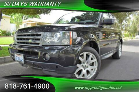 2008 Land Rover Range Rover Sport for sale at Prestige Auto Sports Inc in North Hollywood CA
