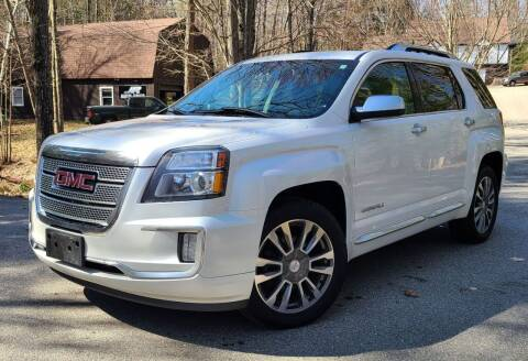 2016 GMC Terrain for sale at JR AUTO SALES in Candia NH