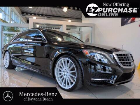 2017 Mercedes-Benz S-Class for sale at Mercedes-Benz of Daytona Beach in Daytona Beach FL