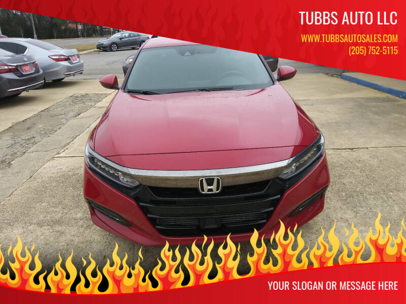 2018 Honda Accord for sale at Tubbs Auto LLC in Tuscaloosa AL