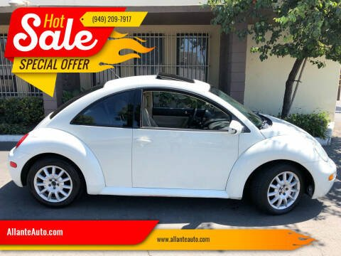 2005 Volkswagen New Beetle for sale at AllanteAuto.com in Santa Ana CA