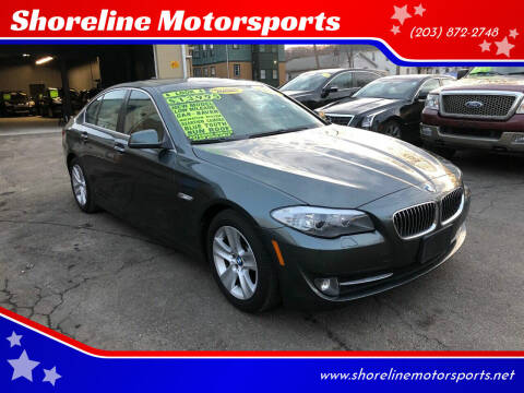 2012 BMW 5 Series for sale at Shoreline Motorsports in Waterbury CT