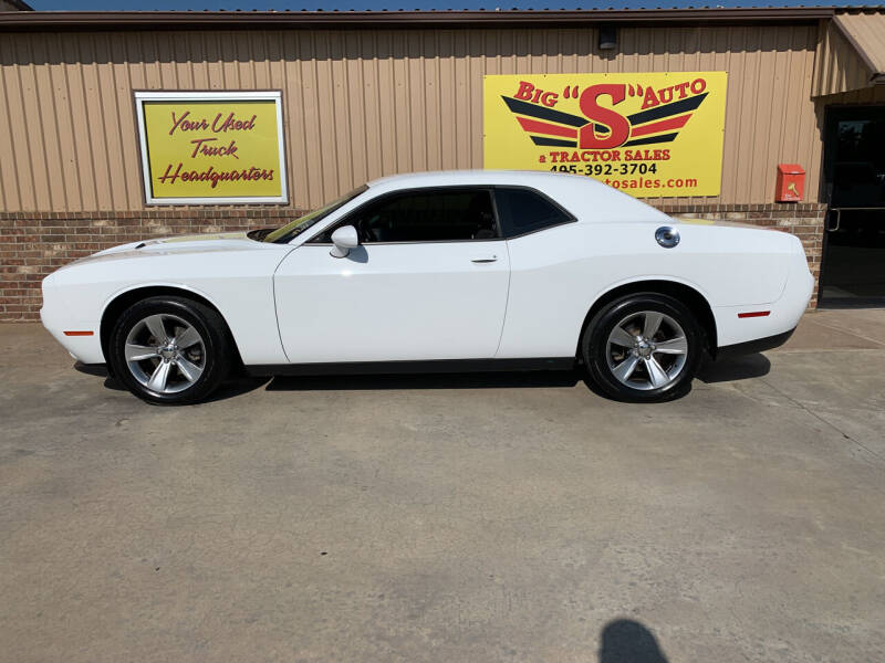 2015 Dodge Challenger for sale at BIG 'S' AUTO & TRACTOR SALES in Blanchard OK