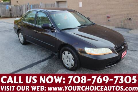 1999 Honda Accord for sale at Your Choice Autos in Posen IL