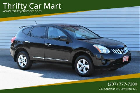 2013 Nissan Rogue for sale at Thrifty Car Mart in Lewiston ME