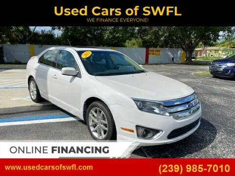 2011 Ford Fusion for sale at Used Cars of SWFL in Fort Myers FL