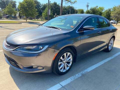 2015 Chrysler 200 for sale at Safe Trip Auto Sales in Dallas TX