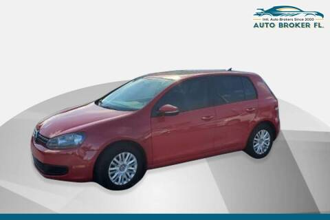 2012 Volkswagen Golf for sale at INTERNATIONAL AUTO BROKERS INC in Hollywood FL