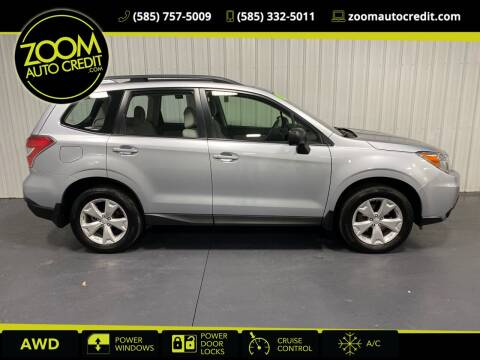 2016 Subaru Forester for sale at ZoomAutoCredit.com in Elba NY