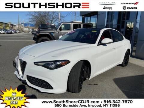 2018 Alfa Romeo Giulia for sale at South Shore Chrysler Dodge Jeep Ram in Inwood NY