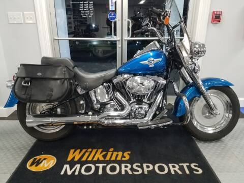 2005 Harley-Davidson Fat Boy for sale at WILKINS MOTORSPORTS in Brewster NY