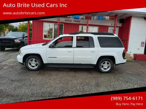 2004 Chevrolet TrailBlazer EXT for sale at Auto Brite Used Cars Inc in Saginaw MI