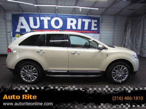 2014 Lincoln MKX for sale at Auto Rite in Bedford Heights OH