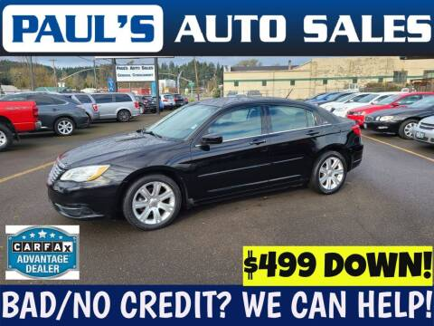 2013 Chrysler 200 for sale at Paul's Auto Sales in Eugene OR