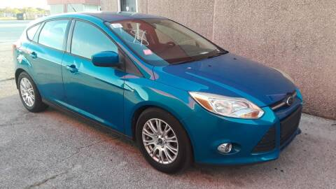 2012 Ford Focus for sale at RICKY'S AUTOPLEX in San Antonio TX