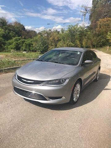 2016 Chrysler 200 for sale at Dependable Motors in Lenoir City TN