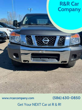 2009 Nissan Titan for sale at R&R Car Company in Mount Clemens MI
