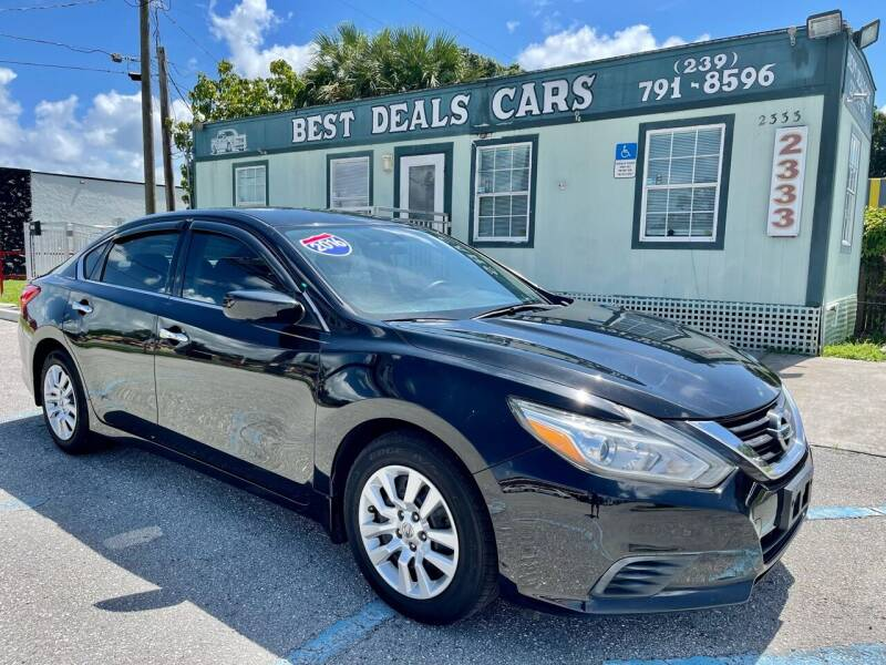 2016 Nissan Altima for sale at Best Deals Cars Inc in Fort Myers FL
