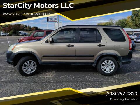2006 Honda CR-V for sale at StarCity Motors LLC in Garden City ID