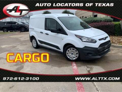 2015 Ford Transit Connect Cargo for sale at AUTO LOCATORS OF TEXAS in Plano TX
