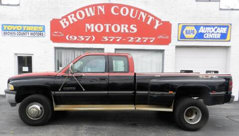 1995 Dodge Ram Pickup 3500 for sale at Brown County Motors in Russellville OH