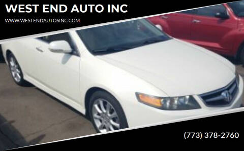 2006 Acura TSX for sale at WEST END AUTO INC in Chicago IL