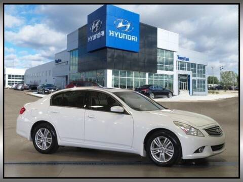 2013 Infiniti G37 Sedan for sale at Terry Lee Hyundai in Noblesville IN