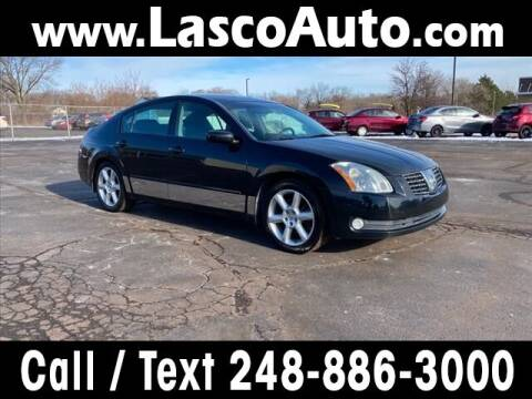 2004 Nissan Maxima for sale at Lasco of Waterford in Waterford MI