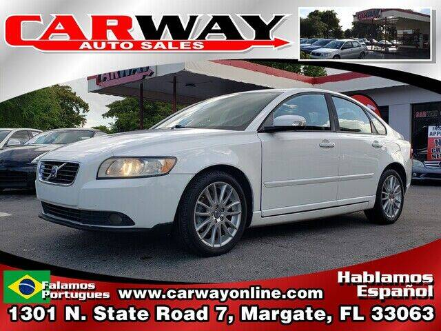 2010 Volvo S40 for sale at CARWAY Auto Sales in Margate FL
