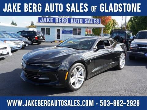 2016 Chevrolet Camaro for sale at Jake Berg Auto Sales in Gladstone OR