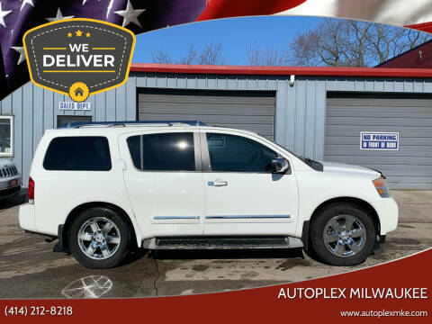 2010 Nissan Armada for sale at Autoplex 2 in Milwaukee WI