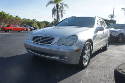 2003 Mercedes-Benz C-Class for sale at Dream Machines USA in Lantana FL