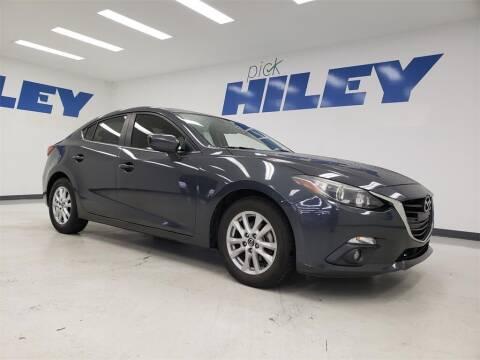 2016 Mazda MAZDA3 for sale at HILEY MAZDA VOLKSWAGEN of ARLINGTON in Arlington TX