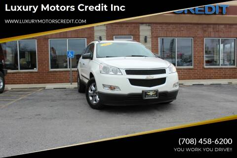 2012 Chevrolet Traverse for sale at Luxury Motors Credit Inc in Bridgeview IL