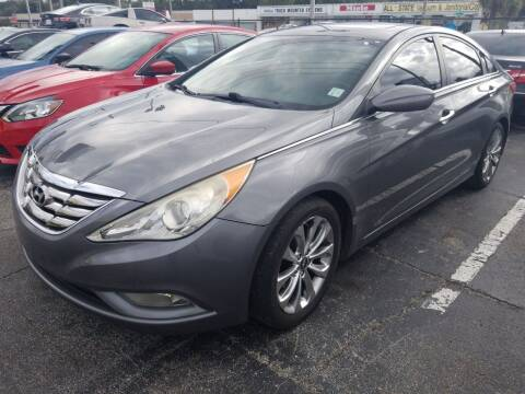 2012 Hyundai Sonata for sale at Castle Used Cars in Jacksonville FL