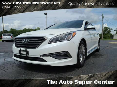 2015 Hyundai Sonata for sale at The Auto Super Center in Centre AL