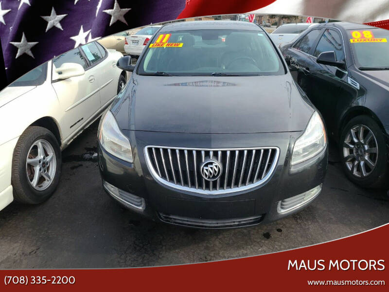 2011 Buick Regal for sale at MAUS MOTORS in Hazel Crest IL