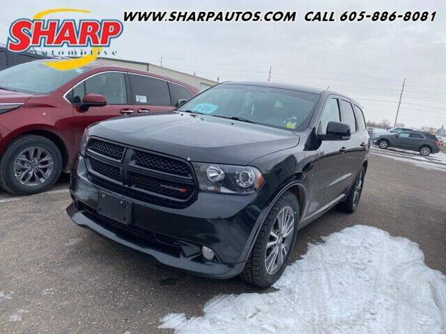 2013 Dodge Durango for sale at Sharp Automotive in Watertown SD