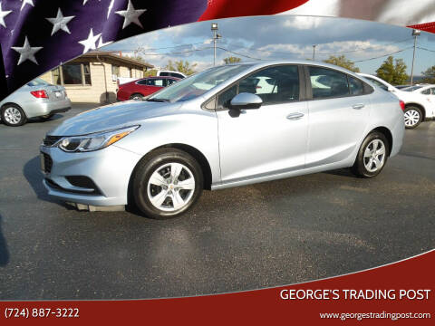 2017 Chevrolet Cruze for sale at GEORGE'S TRADING POST in Scottdale PA