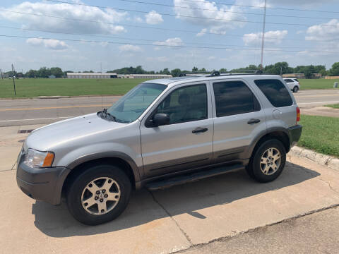 2003 Ford Escape for sale at S & S Sports and Imports in Newton KS