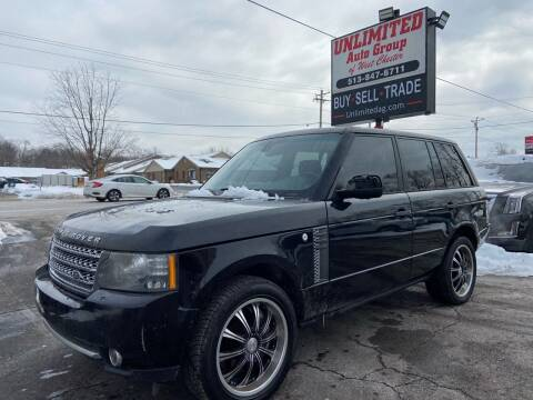 2011 Land Rover Range Rover for sale at Unlimited Auto Group in West Chester OH